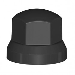 Cubretuercas Negro Sw33
