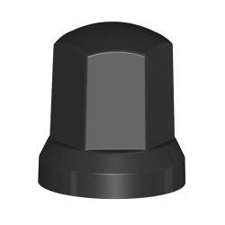 Cubretuercas Negro Sw33 Alt 54 Mm - Nw