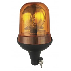 Rotary Beacon Halogen H1 - 12/24V -