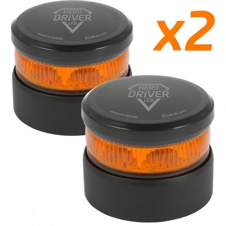 Pack 2 Balizas V16 Hero Driver LED