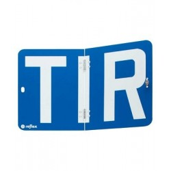 Placa TIR plegable ALUMINIO