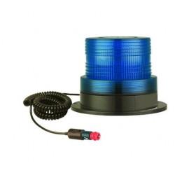 Rotativo Azul 12V./24V. LED AZUL - 12/24 V.