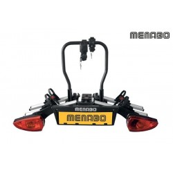Bicycle carrier for tow ball